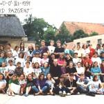 1991r. 3t. 0st. ONŻ ks. dk. Ryszard Pazgrat Konarzewo